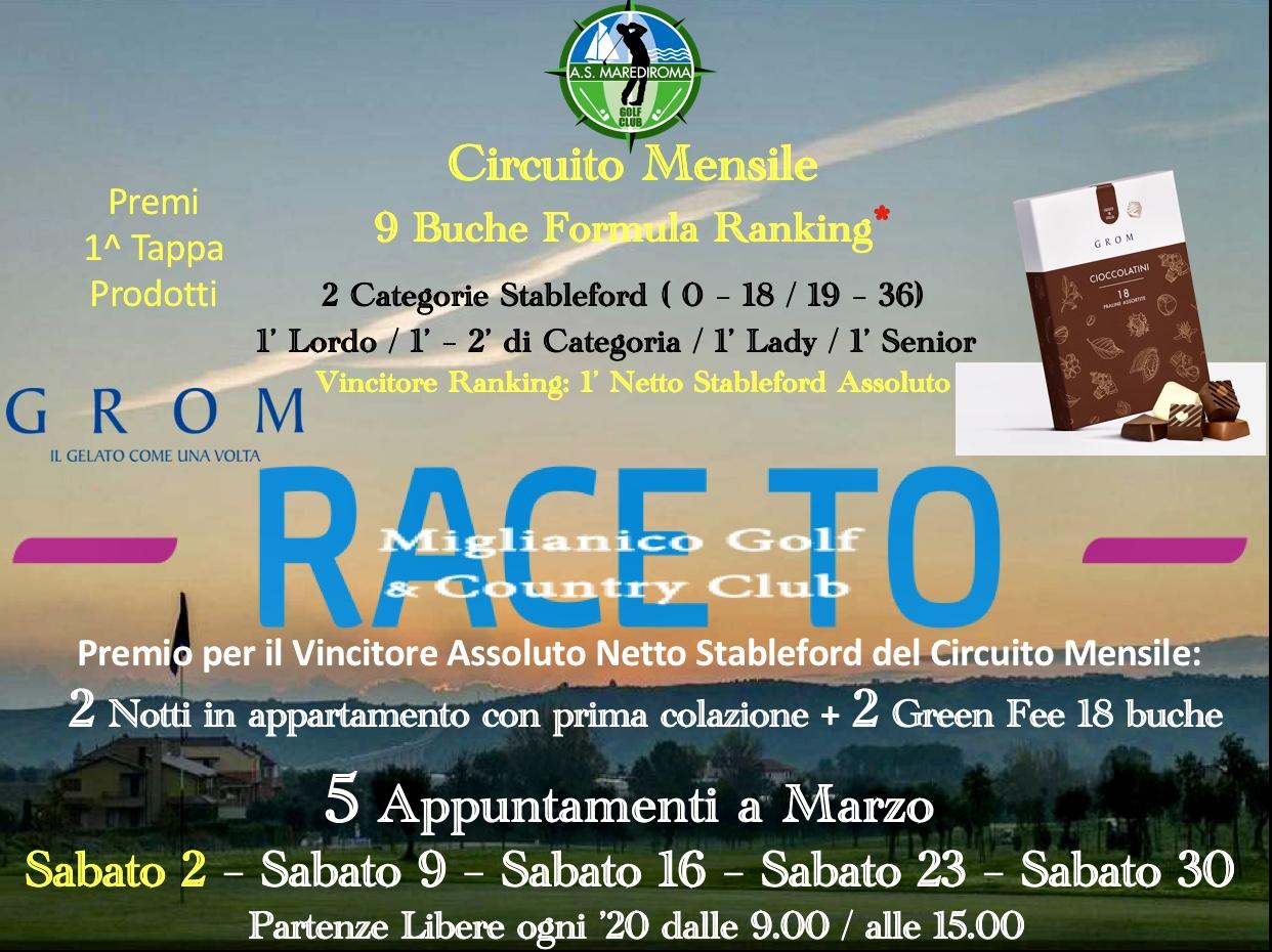 Race To Miglianico Golf & Country Club 2019 – 1^ Tappa ...